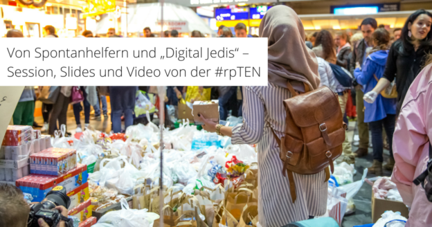Von Spontanhelfern und Digital Jedis - Train of Hope in Frankfurt